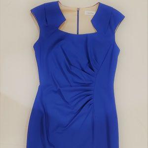 Calvin Klein Royal Blue Knit Dress